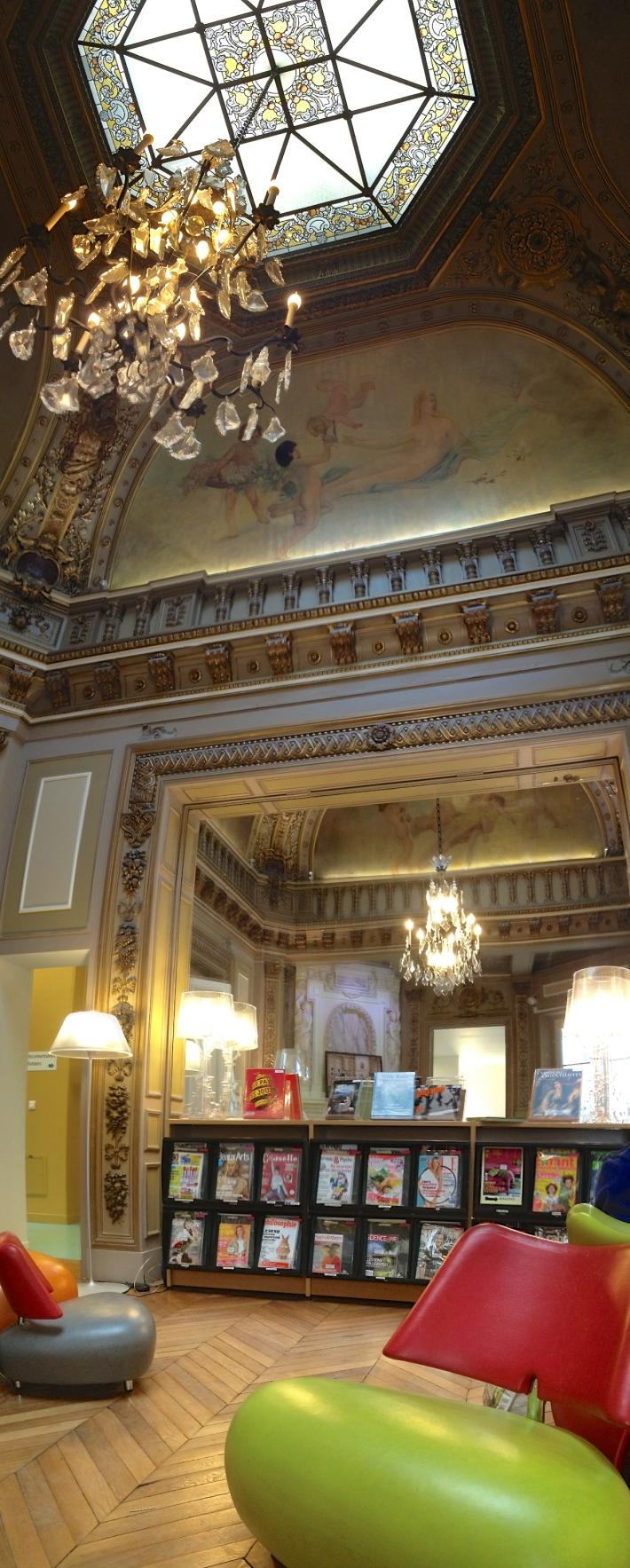 Salon, bibliothèque Chaptal