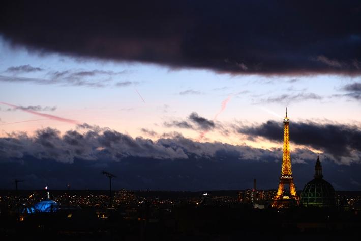 A trifecta on the Paris skyline