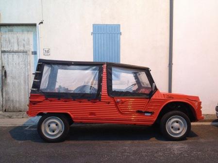 Beach car