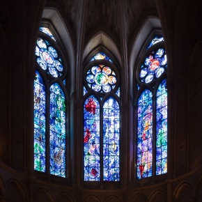 The Chagall windows